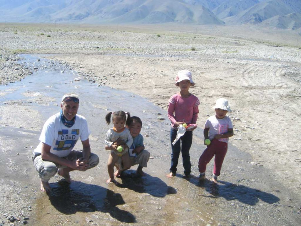 More kids in the Gobi
